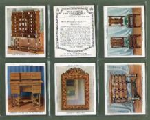Tobacco cigarette cards The King's Art Treasures  1938